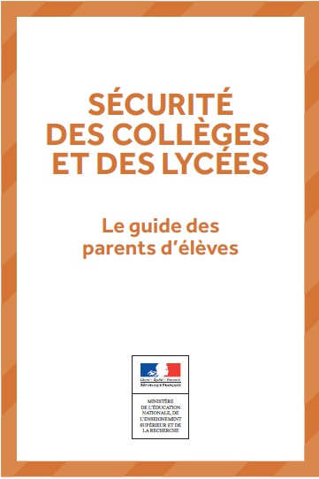 2016 securite guide college parents icone